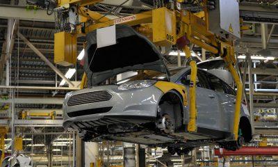 Productie in fabriek Ford Europa