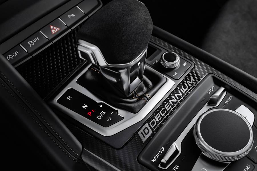 audi-r8-v10-decennium-midden-console