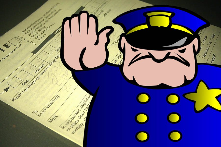 boete-bekeuring-politie