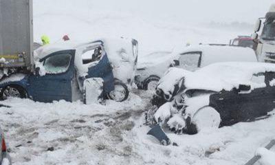 kettingbotsing-ongeluk-sneeuw