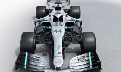 mercedes-amg Petronas W10 2019 vooraanzicht