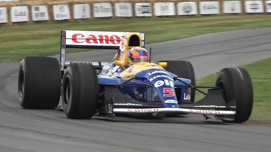 nigel mansell kampioensauto formule 1