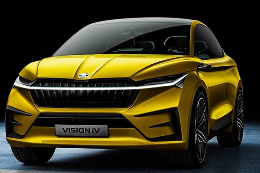 Skoda-vision-iv-elektrisch-voorkant