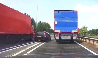 crash-compilatie-nederland-idioten-vrachtwagen-sandwich