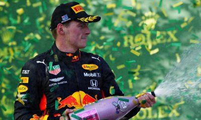 max-verstappen-australie-3e-podium-champagne