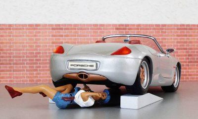 model-car-porsche