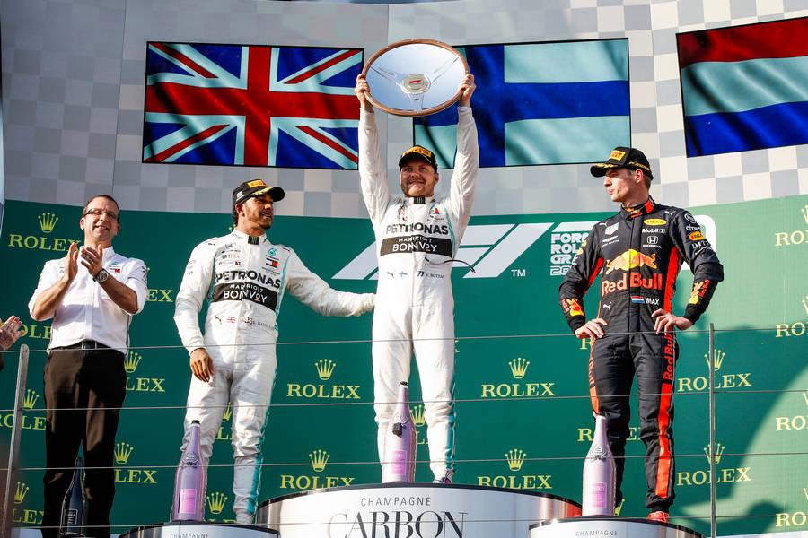 podium-bottas-hamilton-mercedes-verstappen