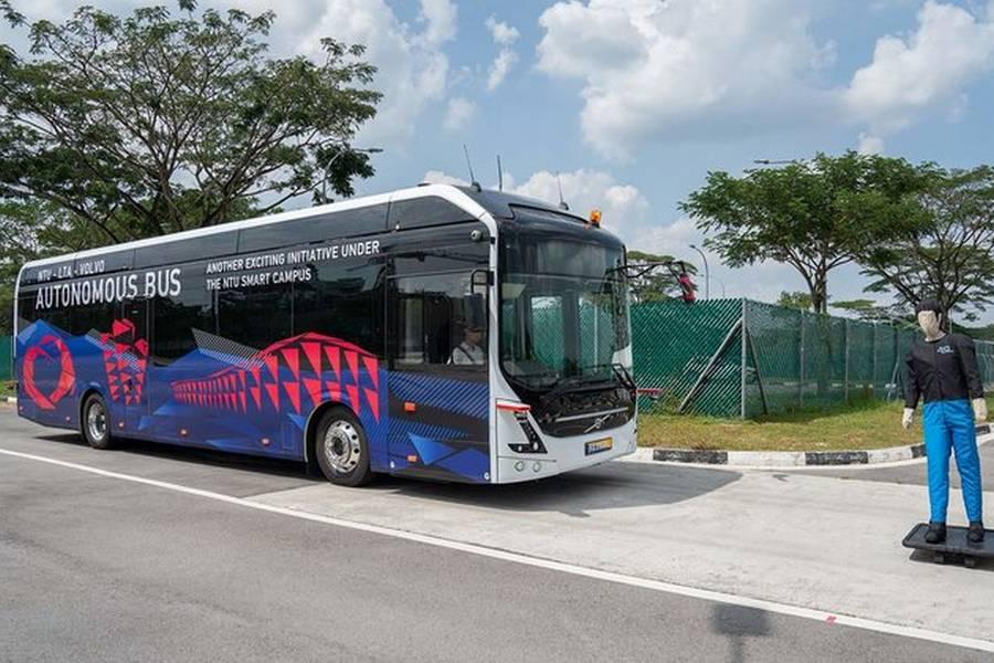 volvo-autonoom-bus-elektrisch-singapore.