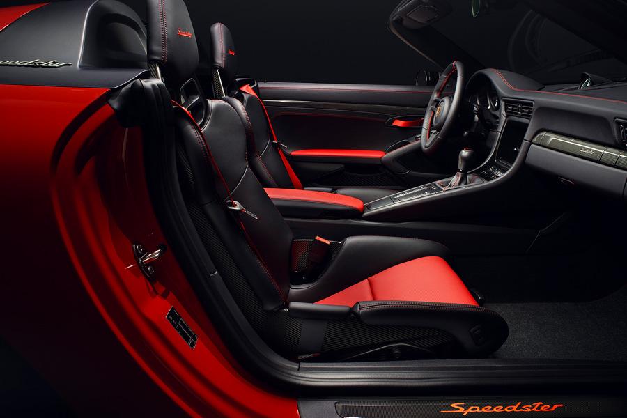 Porsche-911-Speedster-2019-interieur