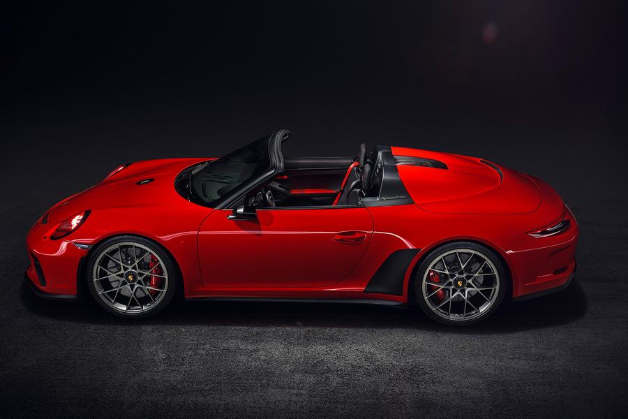 Porsche-911-speedster-2019-zijkant
