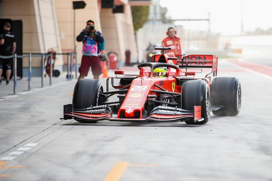 mick-schumacher-ferrari-bahrein