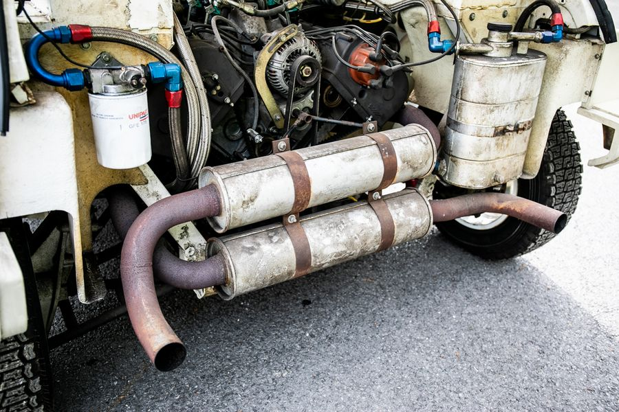 MG-Metro- 6R4-rally-exhaust