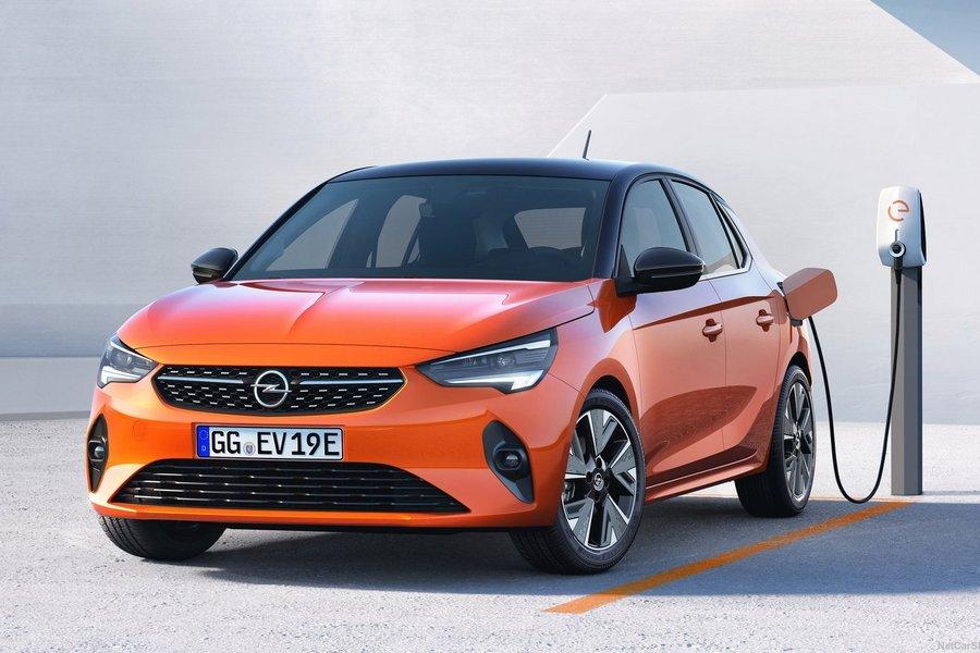 Opel-Corsa-e-2020-front