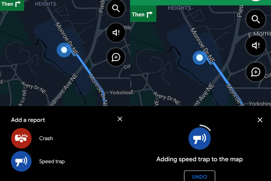 google-maps-flitsers-ongelukken