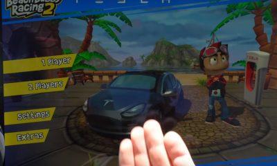 Tesla-racinggame