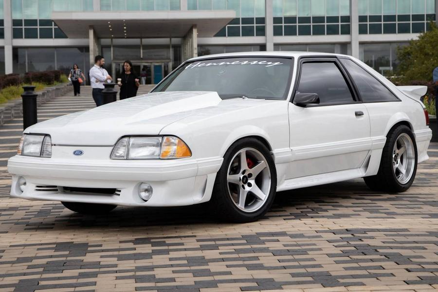 ford-mustang-foxbody-hennessey-voorkant