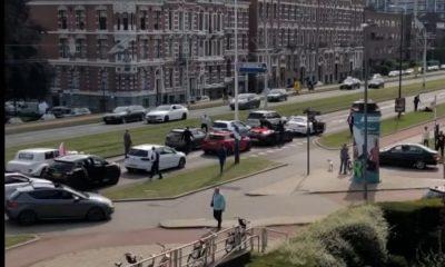 trouwstoet-rotterdam-politie-knockout