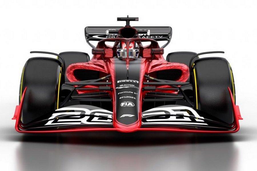 formule-1-auto-2021-zijkant