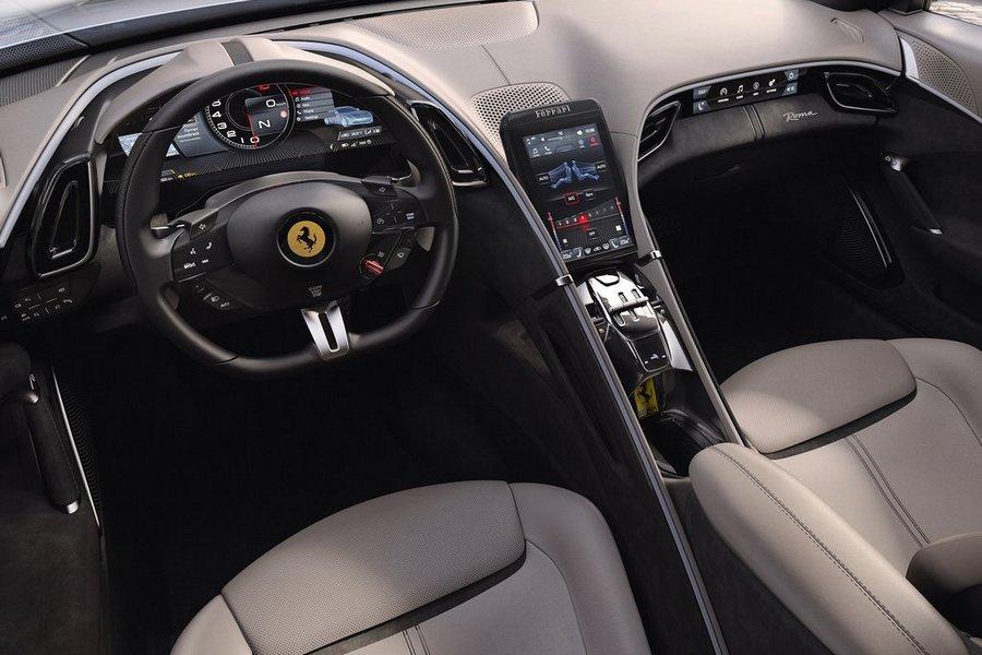 Ferrari-Roma-2020-interieur